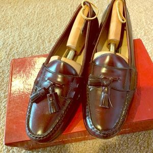 Cole Haan MENS brown loafers 10 D